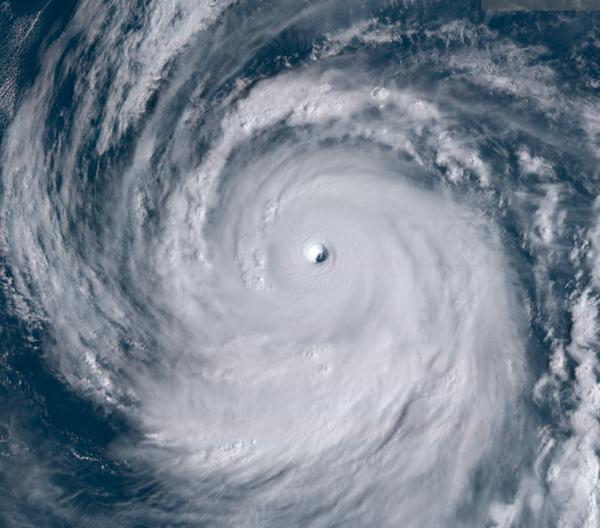 台風25号接近!